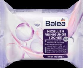 Balea Lingettes Nettoyantes Micelles