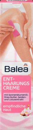 Crème Dépilatoire Balea