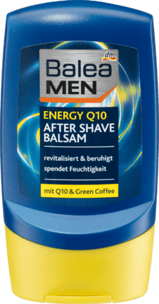 Baume Après Rasage Q10 au café vert