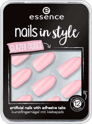 Picture of Ongles Artificiels glace nue , 12 Pièces