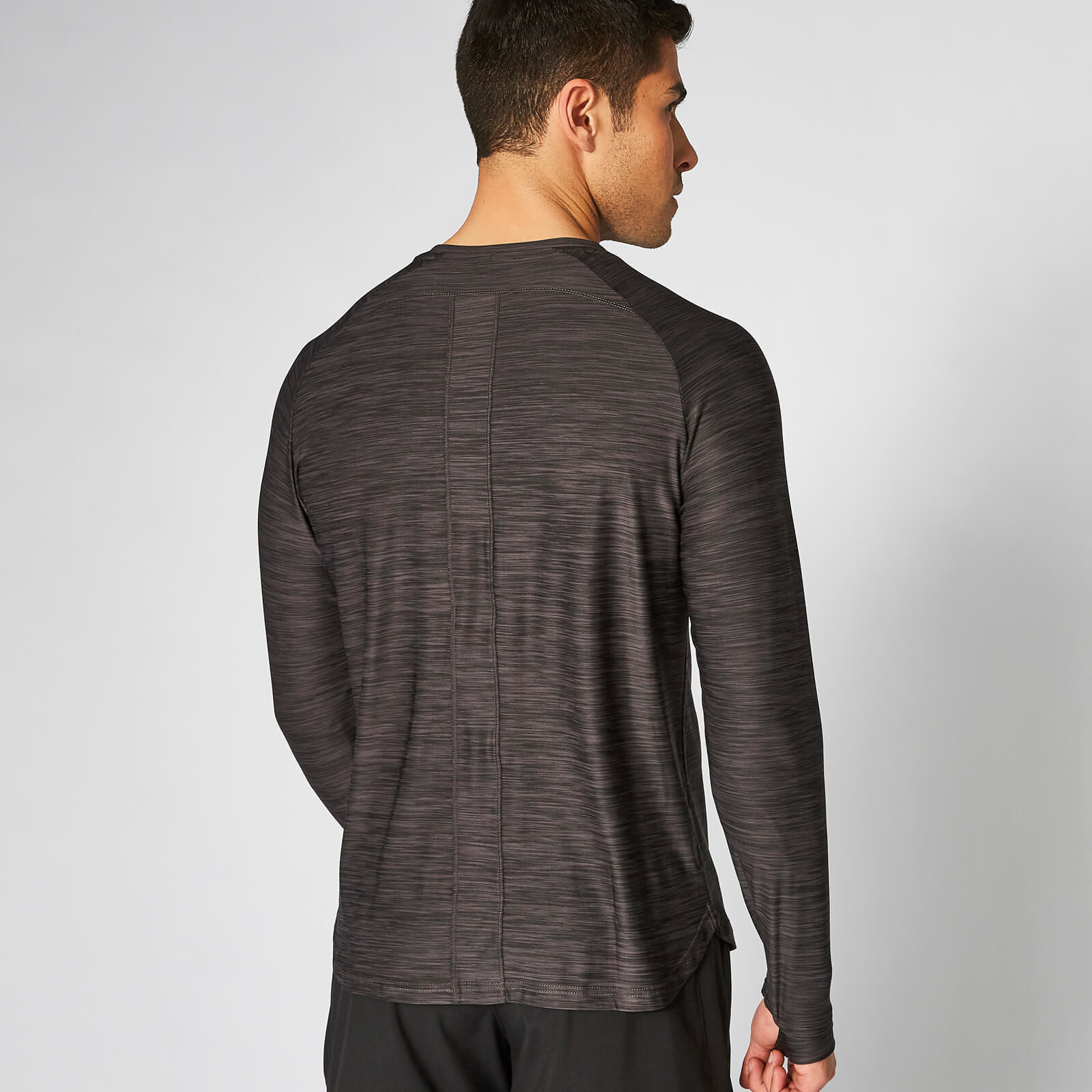 T-Shirt Dry-Tech Infinity manches longues – Ardoise