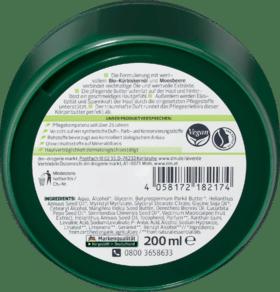 Alverde beurre corporel BIO huile de pépins de courge & Pot de canneberges, 200 ml