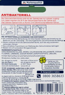 Soie Dentaire Antibactérien, 100 m