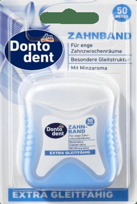 Bande de Dent Extra Lubrifiant, 50 m