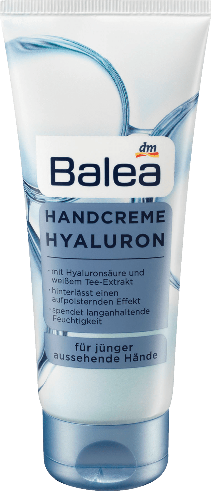 Crème à Mains Acide Hyaluronique à l'extrait de Thé Blanc, 100 ml