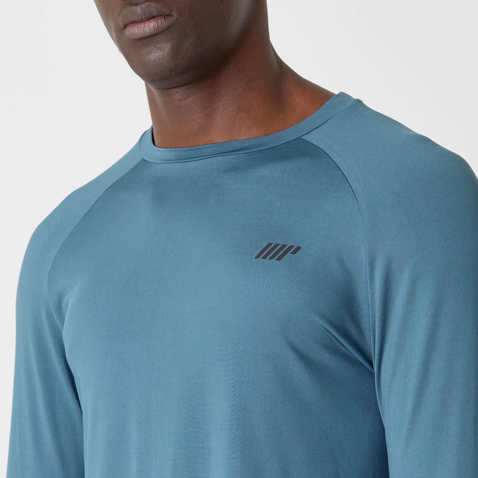 T-Shirt Dry-Tech Infinity manches longues – Bleu