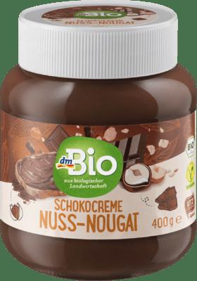 Pâte à tartiner au chocolat, crème de nougat aux noix, 400 g