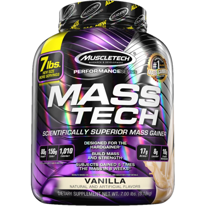 Muscle Tech MassTech Vanille 3,18 Kg