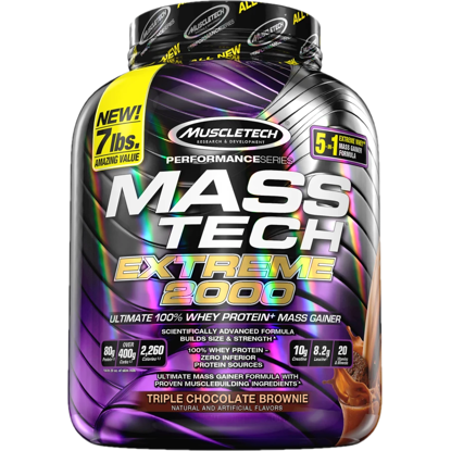 Muscle Tech Masstech CHOCOLATE - MassTech Extreme 2000 - 3,18kg