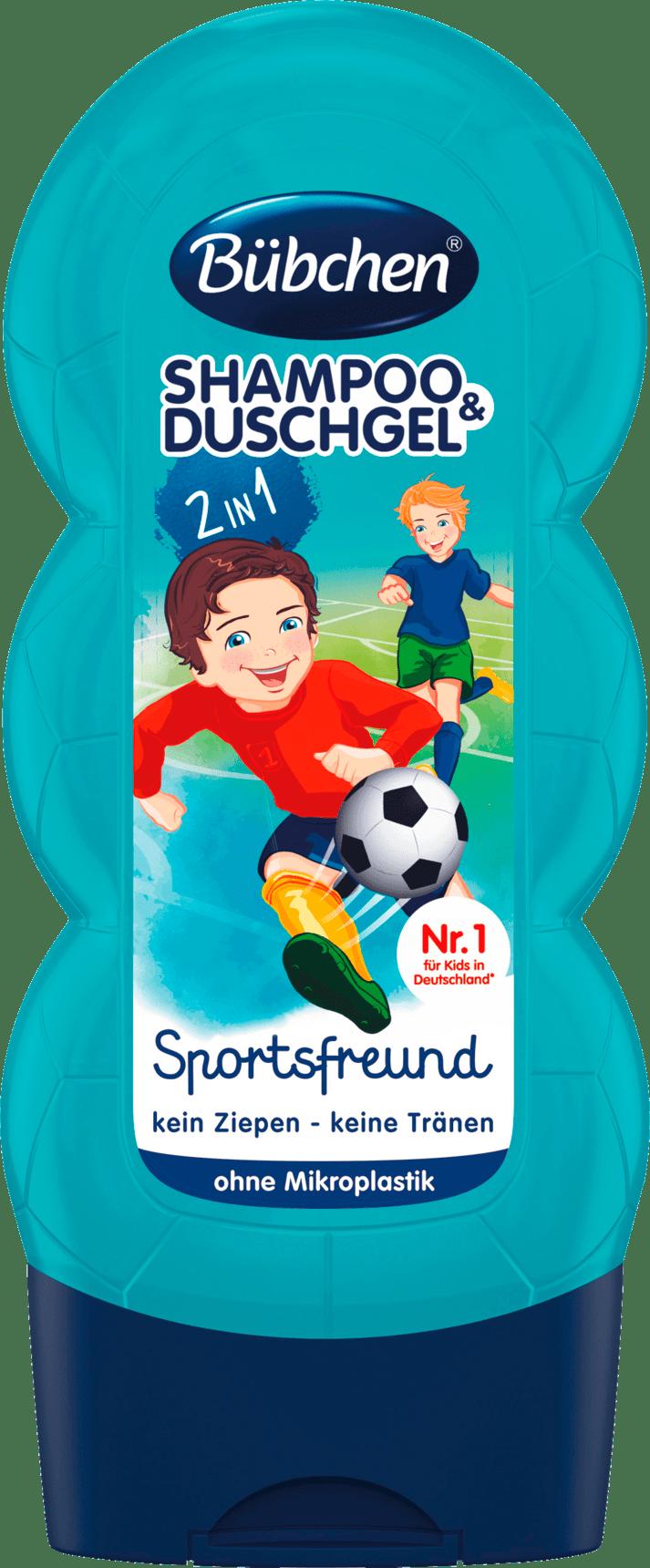 Bübchen Shampooing & Gel Douche Enfants Sport, 230 ml