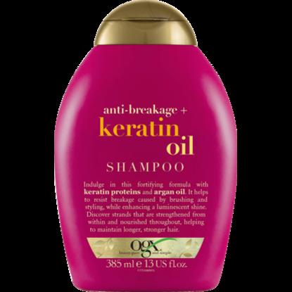 Shampooing à l'huile de kératine anti cassure, 385 ml