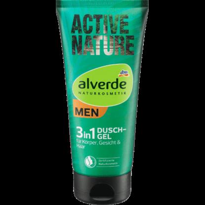 Alverde Gel Douche Actif Nature 3en1, 200 ml