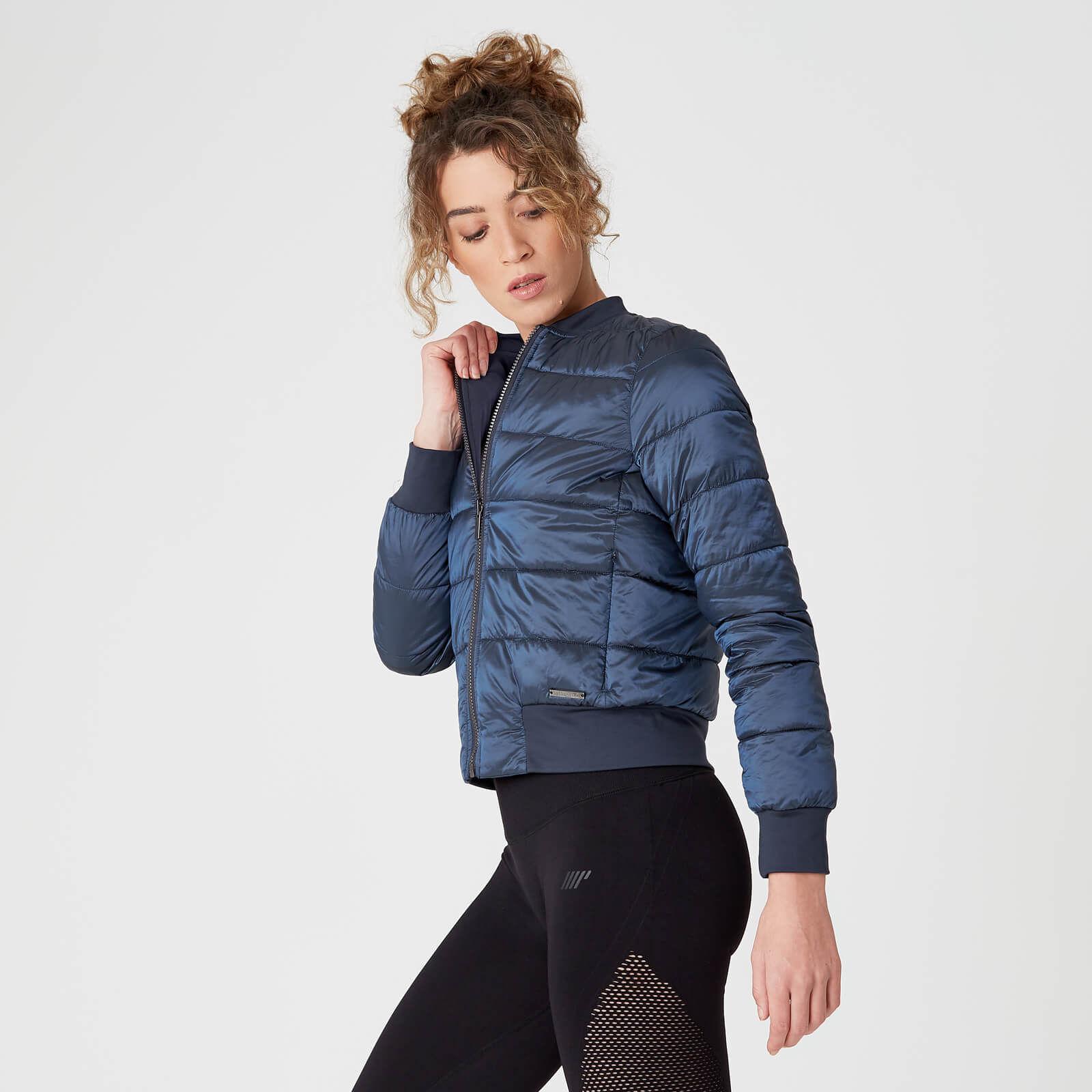 Bomber Pro-Tech Reversible - Bleu - Veste Bomber Réversible pour Femme