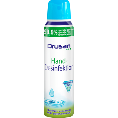 Drusan Spray Désinfectant pour Mains, 150 ml