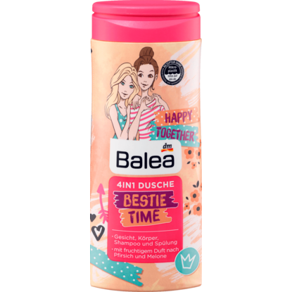 Gel Douche Enfants 4 en 1 Bestie Time