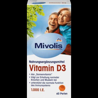 Mivolis Vitamine D3, perles