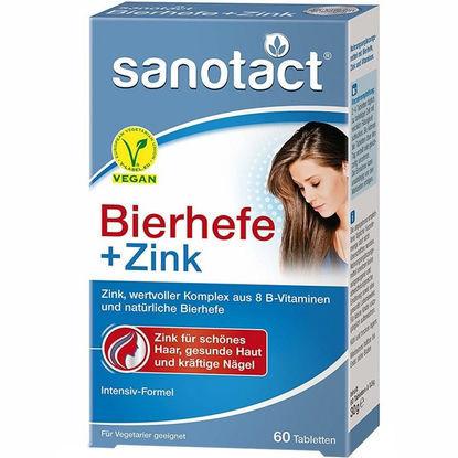 Sanotact Levure de bière + Comprimés de Zinc