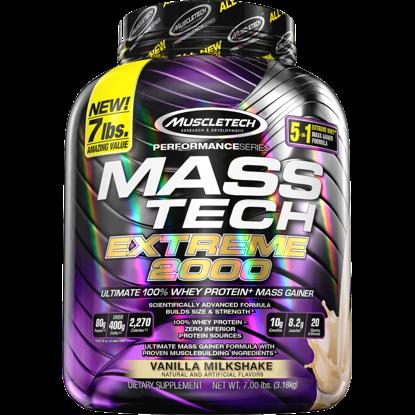 Muscle Tech Masstech Vanille - MassTech Extreme 2000 - 3,18kg