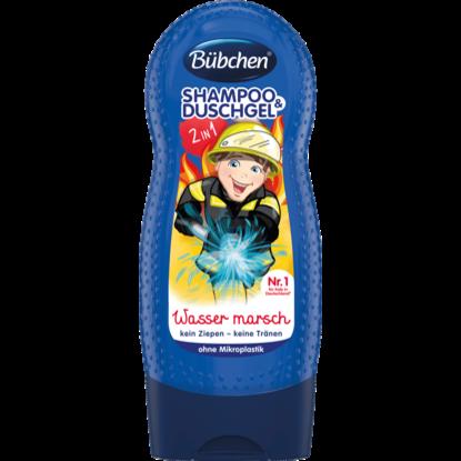 Bübchen Shampooing & Gel Douche pour Enfants Wasser marsch