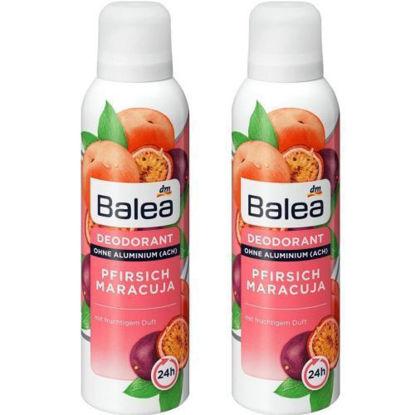 Picture of Balea Pack 2 Déodorant Pfirisch Marcuja - Deodorant Spray 2 x 200 ml