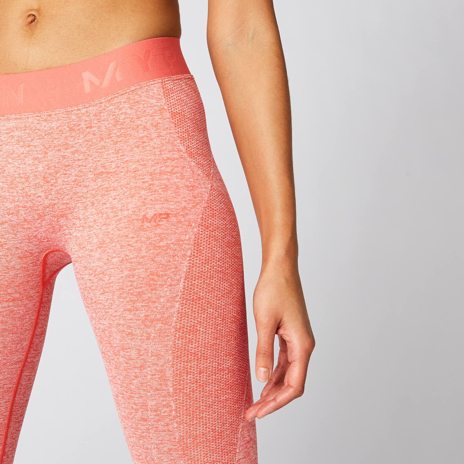 Leggings sans couture Inspire - Cyclisme pour Femme - Orange