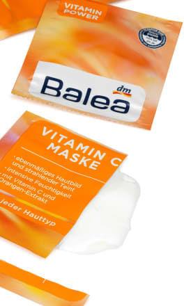 Masque à la vitamine C