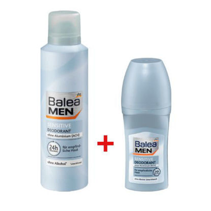 Deo Spray Déodorant sensitive + Déodorant Roll