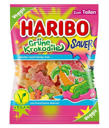 Picture of Haribo Bonbons CROCODILES VERTS